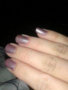 Light purple with glitter