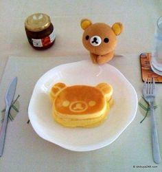Bear Pancakes