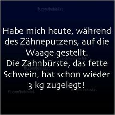 Die Zahnbürste... Just Smile, Funny As Hell, Have A Laugh, True Quotes, Best Quotes, Funny Quotes, Office Humor, Can't Stop Laughing, Really Funny