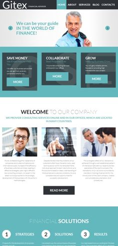 40 best business website templates images on pinterest business responsive website for financial advising financial websitebusiness website templatesadmin panel wajeb Images