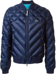 Lacoste Live quilted jacket on shopstyle.com