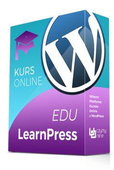 W kursie eduLearnPress uczę jak samodzielnie zbudować własną platformę kursów online w oparciu o LMS LearnPress oraz CMS WordPress