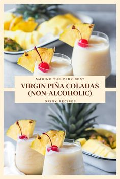 Find easy-to-make comfort food recipes like Healty recipes, dinner recipes and more recipes to make your fantastic food today. Easy Drink Recipes, Nut Recipes, Dinner Recipes, Easy Pina Colada Recipe, Cooking Challenge, Best Blenders, Food Test, Non Alcoholic Drinks, Healthy Drinks