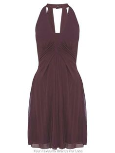 Karen Millen Size 14 and 16 US 10 and 12 EU 42 and 44 Sleeveless Drape Dress