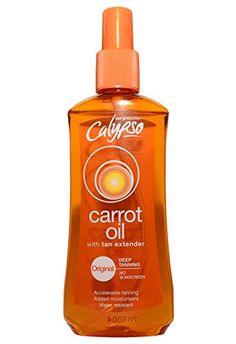 From Calypso Carrot Oil With Tan Extender Original Deep Tanning Indoor Tanning Lotion, Beauty Skin, Carrot, Life Is Good, Skin Care, Good Things, Deep, Oil, The Originals