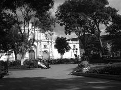 Antigua, il parco centrale