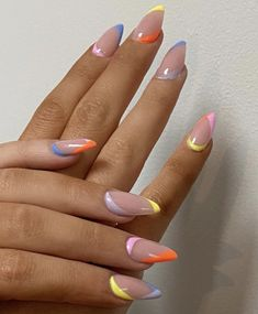 Nail Design Stiletto, Nail Design Glitter, Acrylic Nails Coffin Glitter, Simple Acrylic Nails, Best Acrylic Nails, Pastel Nails, Nails Design, Aycrlic Nails, Swag Nails