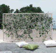 Separa ambientes en jardines y terrazas