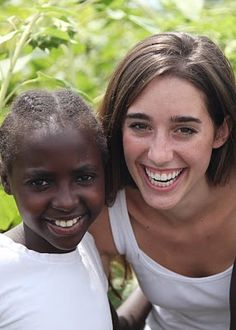 Katie Davis - at 23 years old she is mom to 13 beautiful girls and founder of Amazima ministries, which feeds and educates hundreds of children every day.
