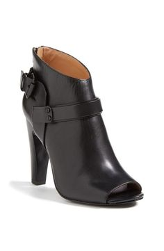 $375 Vc Signature Nikoletta Saucy Peeptoe Bootie Boot Moto Straps Flirty 6 M/36 #vcsignature #FashionAnkle