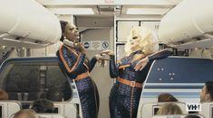 JetBlue Trixie Mattel and Bob the Drag Queen celebrate Pride 2019