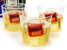 Bombs Away Glasses £4.59
