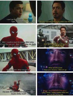 Captain America Civil War: Spidey and Iron Man Funny Scenes