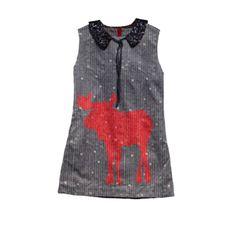MAX & LOLA Disin Deer Dress
