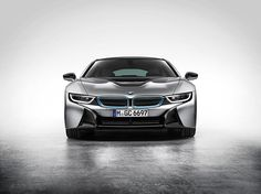 BMW i8 Plug-in Electric Sports Car (4)