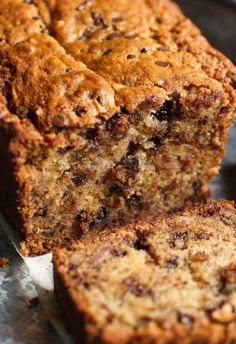 The BEST Chocolate Chip Banana Bread recipe uses a secret method to get extra banana flavor and texture! You'll use this recipe forever! Before you start yawning at yet ANOTHER Banana Bread recipe, please, please give me a chance to explain. I mean I get it. You have your Granny's recipe that is the best.... Read More