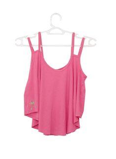 Cropped Duas Alças #pink #cute #girlsfashion