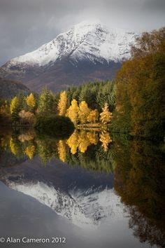 Glencoe Lochan, Autumn by Alan Cameron ~ Scotland*