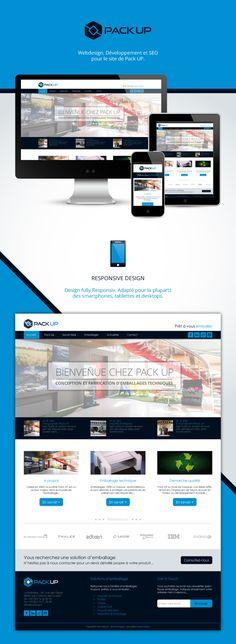 Aperçu du template d'un site web Responsive Design ! #webdesign #framework #devices #ux-ui-design