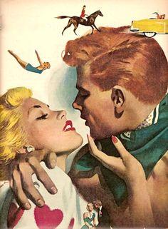 hollyhocksandtulips:    Jon Whitcomb, 1950s