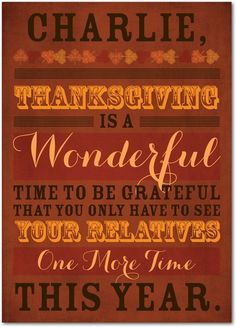 Grateful Times - Happy Thanksgiving Greeting Cards from Treat.com