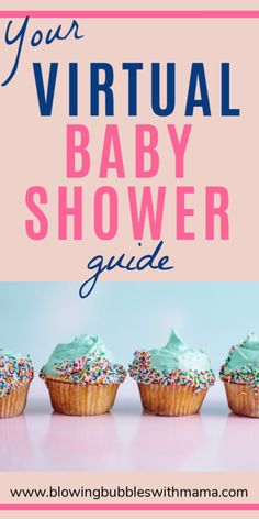 How to Throw a Virtual Baby Shower . In these times, online baby showers are becoming more popular. See my post for the full guide on how to throw a virtual baby shower, that everyone will love! - Blowing Bubbles with Mama Baby Shower List, Baby Shower Venues, Virtual Baby Shower, Baby Shower Winter, Baby Shower Games, Baby Shower Parties, Baby Showers, Babyshower Games For Girls, Baby Shower Cupcakes For Girls