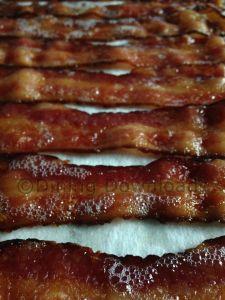 Baking bacon in bulk