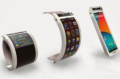 Tecnoneo: Google Nexus 360, concepto de Google que transforma un teléfono móvil en un dispositivo SmartWatch portátil