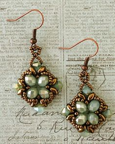 "Linda's Crafty Inspirations: More ""Noah Earrings"""