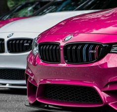 BMW F80 M3 pink white