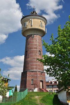 Wieża ciśnień w Olecku.  Wasserturm in Treuburg