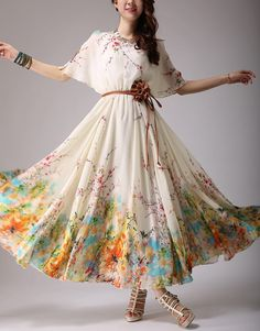 spring dress summer dress women clothing womens clothing by handok, $89.00