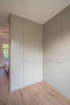 Bedroom Built In Wardrobe, Wardrobe Doors, Closet Bedroom, Cozy Bedroom, Built In Storage, Home Decor Kitchen, Built Ins, Home Renovation, Home And Living