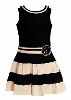 Naughty Ninos Girls paneled dress for 2 to 12 years age - http://www.zazva.com/shop/kids-clothing-accesories/naughty-ninos-girls-paneled-dress-2-12-years-age/ Size range 2 to 12 years 100% cotton biowashed fabric for skin comfort Lined with soft cotton for comfort