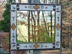I love birch trees, birch bark, and anything made from birch!  Birch bark frame