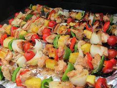 Polynesian Food Menu | Hawaiian Chicken Kebab Recipe