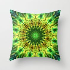 Mandala - Holding Hands - Throw Pillow $20.00
