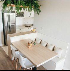 10 Designs Perfect for Your Little Kitchen area - Design della cucina Home Decor Kitchen, Country Kitchen, Kitchen Interior, Kitchen Ideas, Kitchen Inspiration, Kitchen Designs, Diy Kitchen, Kitchen Gadgets, Coin Banquette