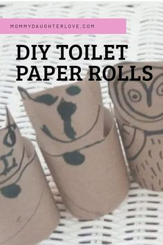 DIY toilet paper roll crafts Cardboard Toys, Cardboard Playhouse, Paper Towel Rolls, Toilet Paper Roll Crafts, Smooth Lines, Best Blogs, Step By Step Drawing, Daughter Love, Program Design