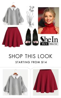 """#10/13 Shein"" by ahmetovic-mirzeta ❤ liked on Polyvore featuring Burberry"