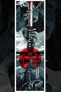 EVAN 052 Japanese Samurai - Combat Warrior from Japan Art Print Poster Ronin Samurai, Samurai Warrior, Fantasy Anime, Fantasy Art, Japanese Drawing, Samurai Artwork, Art Asiatique, Samurai Tattoo, Art Japonais