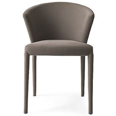 """Amelie Chair by Calligaris Italy at Lumens.com grey cotton 20.5""""X22.5""""X29.6"""" $447.52"""