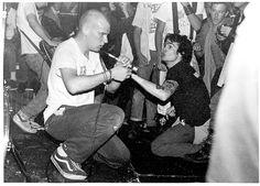MINOR THREAT Ian Mackaye & Henry Rollins of Black Flag Hardcore Punk