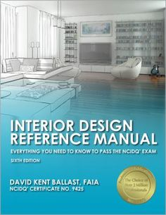 interior design reference manual - NIDQ Study Guide & NIDQ xam esources Window reatments ...