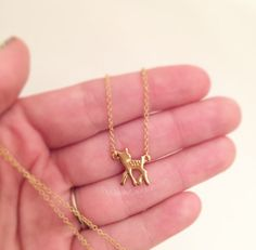 Fawn Necklace – The Geeky Cauldron