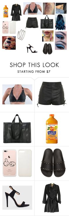 """""""Stripper outfit"""" by maddison-baron on Polyvore featuring Topshop, Corto Moltedo, Valentino, Burberry and Decadence"""