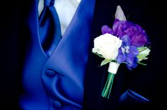 Blue and Purple Wedding Ideas Wedding Bride, Wedding Blog, Wedding Flowers, Wedding Day, Wedding Stuff, Wedding Dresses, Purple Groomsmen, Groom And Groomsmen, Blue Purple Wedding