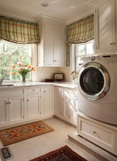 laundry room cabinets  classic comfort - traditional - laundry room - philadelphia - Diane Burgoyne Interiors