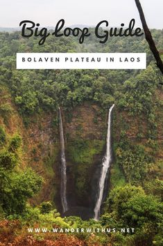 Big Motorbike Loop Around The Bolaven Plateau in Laos If you're an adventurous soul and want a real taste of Laotian culture, feel mostly comfortable on a motorbike and love the natural world, the 4-day motorbike aka Big Loop around the Bolaven Plateau in Laos is made for you! Check out our link for a full detailed guide through waterfall heaven!