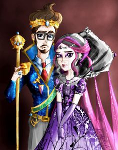 A King and a Queen - Raven and Dexter by SkyXRiven.deviantart.com on @deviantART